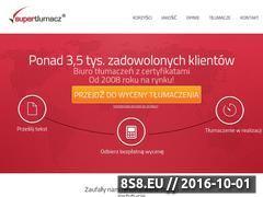 Miniaturka domeny www.biuro-tlumaczen.pl