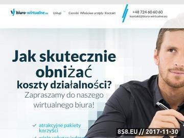 Zrzut strony Biuro Wirtualne Warszawa Ochota