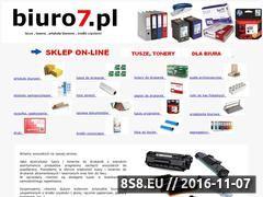 Miniaturka domeny biuro7.pl