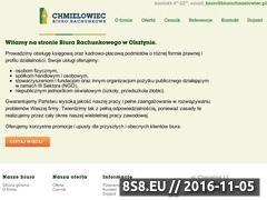 Miniaturka Biuro rachunkowe Olsztyn (biurochmielowiec.pl)