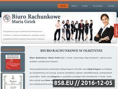 Miniaturka domeny www.biurogetek.pl