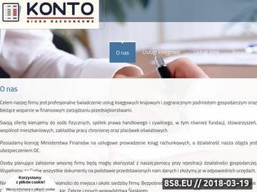 Zrzut strony Tarnowskie Góry - biuro rachunkowe Konto