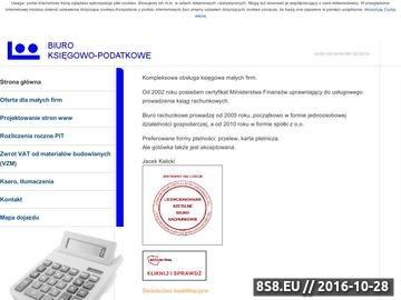 Zrzut strony Biuro rachunkowe Szczecin - prowadzenie spraw kadrowo-płacowych