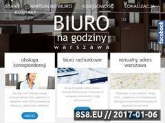 Miniaturka domeny www.biuronagodziny.waw.pl