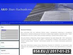 Miniaturka domeny biurorachunkowe-ako.pl
