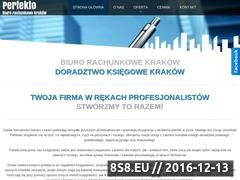 Miniaturka domeny www.biurorachunkowe-perfekto.pl
