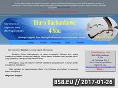 Miniaturka domeny biurorachunkowe4you.waw.pl