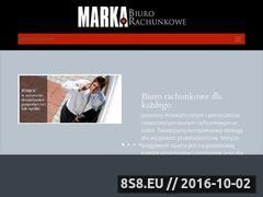 Miniaturka domeny www.biurorachunkowemarka.pl