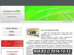 Miniaturka domeny www.biurorachunkowemm.pl