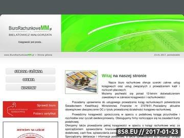 Zrzut strony Www.biurorachunkowemm.pl - Biuro Rachunkowe MM