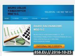 Miniaturka domeny biurorachunkowemsd.pl