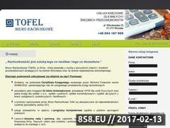 Miniaturka domeny www.biurotofel.pl