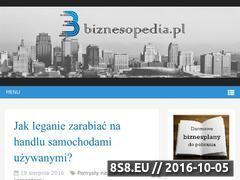 Miniaturka domeny www.biznesopedia.pl