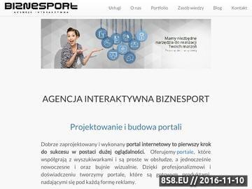 Zrzut strony Tworzenie stron WWW Szczecin