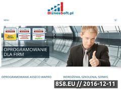 Miniaturka domeny www.biznessoft.pl