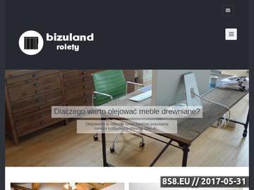 Zrzut strony Biżuland.pl