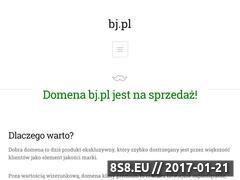 Miniaturka domeny bj.pl