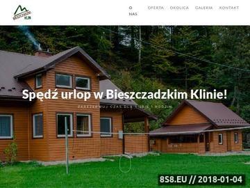 Zrzut strony Domki Bieszczady - Bieszczadzki Klin