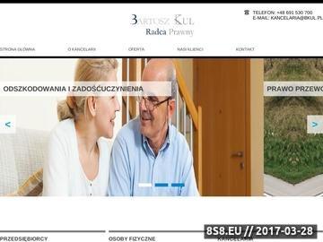 Zrzut strony Radca prawny Łódź