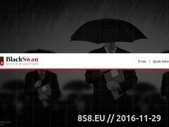 Miniaturka domeny www.black-swan.pl