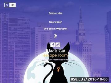 Zrzut strony Escape room Warszawa