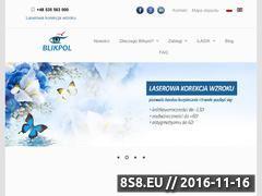 Miniaturka domeny www.blikpol.pl