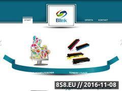 Miniaturka domeny blink.net.pl