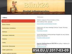 Miniaturka domeny blink24.pl