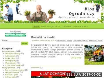 Zrzut strony Poradnik Ogrodniczy
