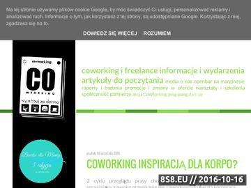 Zrzut strony Włoska robota, czyli Co working Leonardo Project w Warszawie