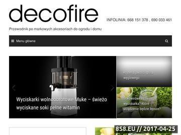 Zrzut strony Ekspres do kawy