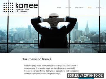 Zrzut strony CRM dla firm szkoleniowych i innych