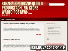 Miniaturka domeny www.bloodmafia.pl