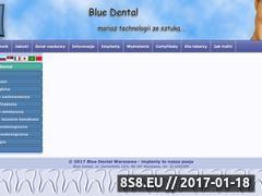 Miniaturka domeny www.bluedental.pl