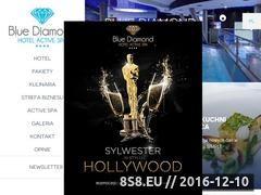 Miniaturka domeny www.bluediamondhotel.pl