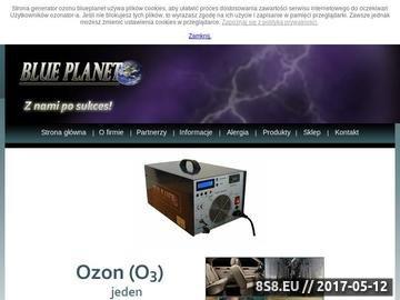 Zrzut strony Ozonowanie
