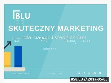 Zrzut strony Procimity Marketing