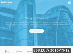 Miniaturka domeny www.bluerank.pl