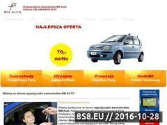 Miniaturka domeny www.bm-auto.pl
