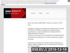 Miniaturka domeny www.bmbprofit.pl