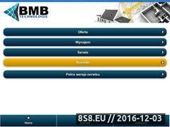 Miniaturka domeny www.bmbtechnologie.pl