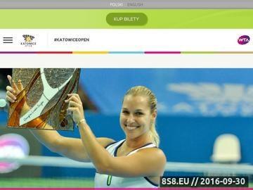 Zrzut strony Turniej tenisowy Katowice