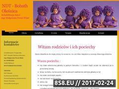 Miniaturka domeny www.bobath-olesnica.pl