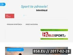 Miniaturka domeny bobosklep.pl