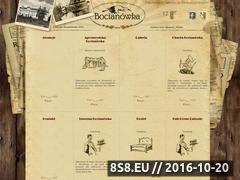 Miniaturka domeny bocianowka.com.pl
