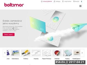 Zrzut strony Tania drukarnia Poznań Boltimor