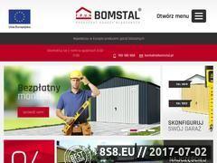 Miniaturka domeny www.bomstal.pl