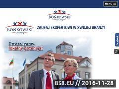 Miniaturka domeny bonkowski-consulting.pl