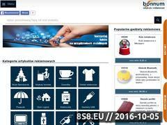 Miniaturka domeny www.bonnum.pl