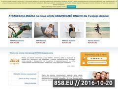 Miniaturka domeny www.bonusubezpieczenia.pl
